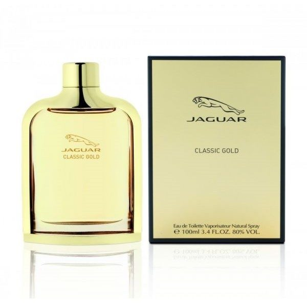 Classic Gold By Jaguar For Men Eau De Toilette 100ml Tiffs
